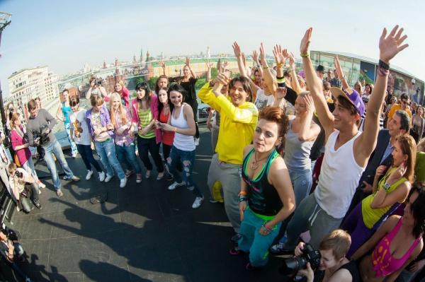 Первая в России фитнес-вечеринка Zumba