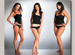 Фитнес по типу женской фигуры