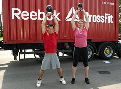 Праздник CrossFit в Парке Горького