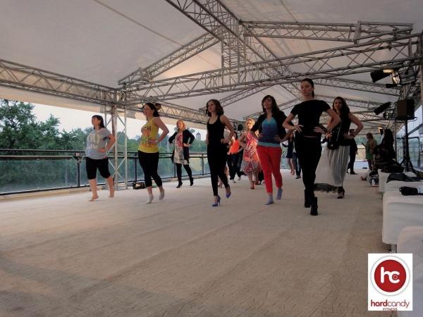 Мастер-класс Stiletto Strength  в клубе Hard Candy Fitness