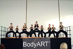Первое сертифицированное обучение по BodyART в России