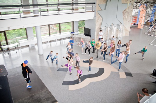 «Делай как мы!» — праздник детского фитнеса в Московском Дворце пионеров