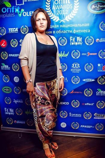 Церемония награждения Onfit Awards 2012