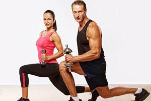 фитнес для двоих - доступно, интересно, положительное влияние на отношения