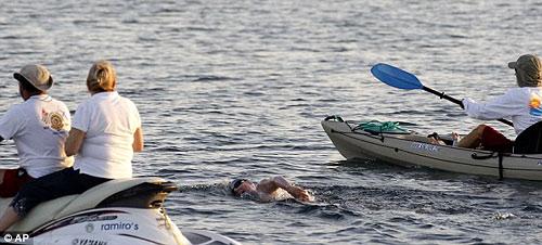 49-летняя пловчиха так и не преодолела Флоридский пролив