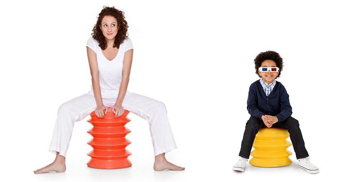 Ergo Ergo Chair — стул для тех, у кого не хватает времени на фитнес