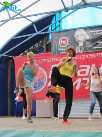XI День физкультурника «Планеты Фитнес»