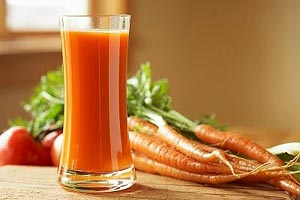 Морковь полезно есть круглый год.