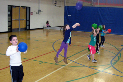 Мячи в детских фитнес-программах