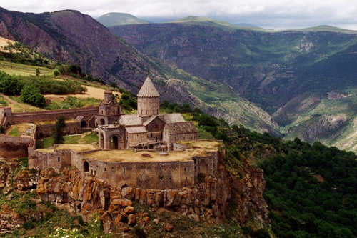 Йога-тур в Армению