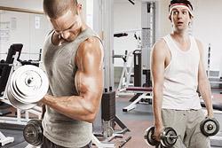 Ученые: силовые тренировки спасают мужчин от диабета