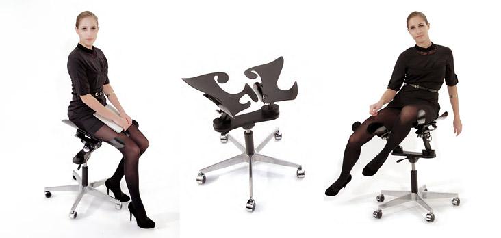 Фитнес-стул LimbIC для офиса