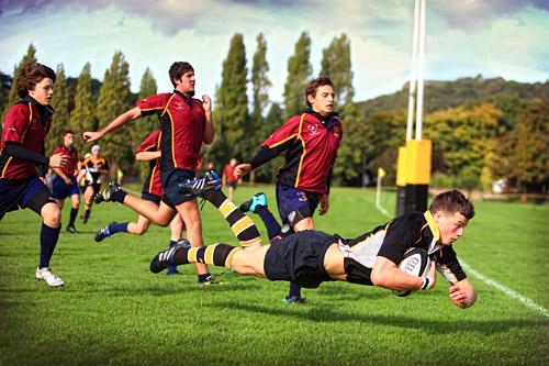 Питерские школьники на уроках физкультуры займутся регби