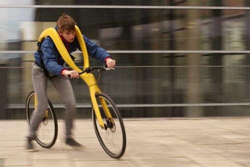 Fliz Bike — удивительный гибрид велосипеда и самоката