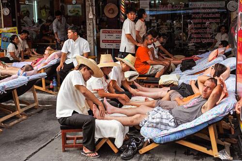 Тайский массаж - дешево и сердито