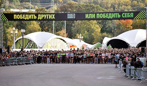 19 750 — таким было точное число участников забега Nike Run Moscow «Ты против себя».