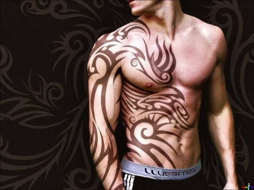 Татуировка: если делать, то большую!