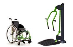 В Петербурге появились бесплатные тренажеры для инвалидов