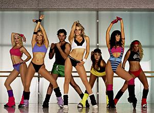 в 70-х годах, хореограф Джекки Соренсен предлагает соотечественникам заняться аэробными танцами.