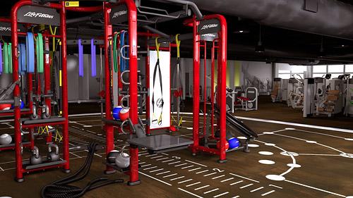 Synrgy360 представляет собой единую тренировочную систему, включающую в себя основную раму, набор аксессуаров и обучающие материалы.