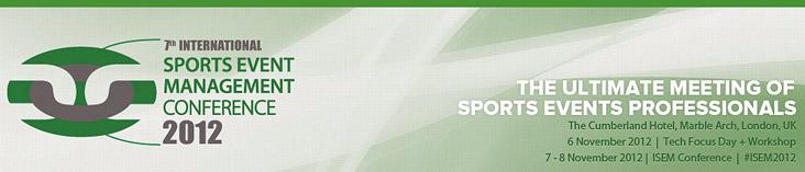 7 International Sports Event Management Conference 2012
