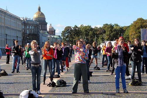 Бесплатный фитнес в центре Петербурга