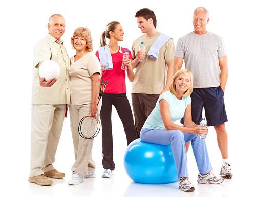 Фитнес в любом возрасте избавляет от болезней