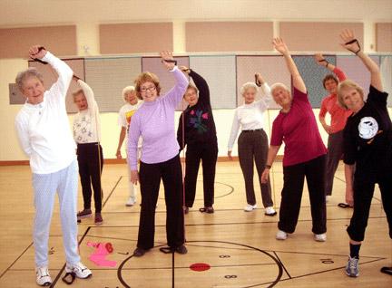 Бесплатный факультет здоровья для пенсионеров