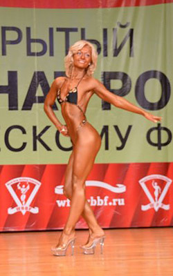 WFF-WBBF Russia Cup Open