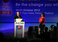 Фитнес-конвенция AFC 2012 в Таиланде