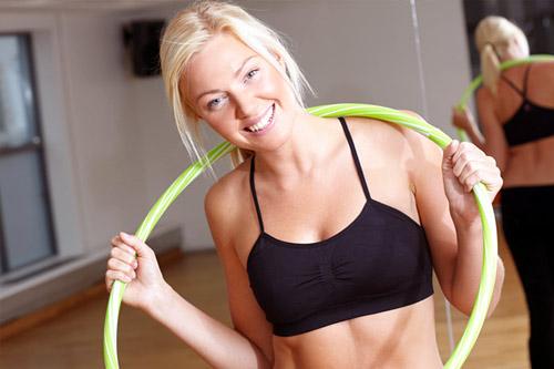 HoopFitness - специальные фитнес-программы по работе с хула-хупом