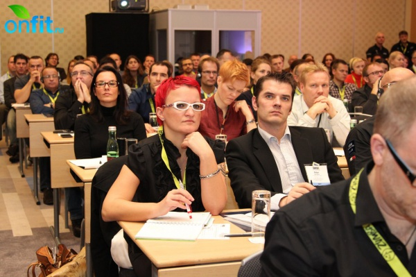 European Congress IHRSA в Вене: 2 день. Часть 1