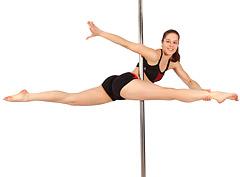 Видеоурок: Pole Dance — танец на пилоне. Часть 1