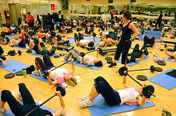 Первая международная фитнес-конвенция в Иркутске