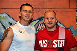 Российский спортсмен Федор Емельянеко стал членом клуба World Gym Зеленый!