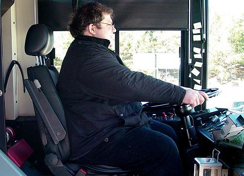 В Австралии полных водителей автобусов отправят на фитнес