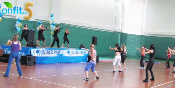 Фитнес-клубу Wellness Park исполнилось 5 лет!