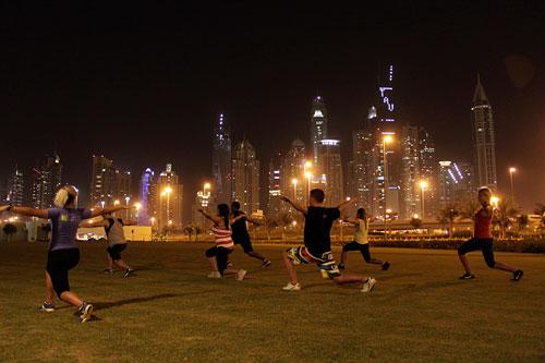 В ОАЭ заплатят поклонникам фитнеса
