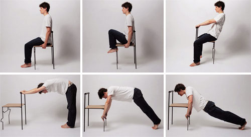 Tai Chi Chair — спортзал в виде стула