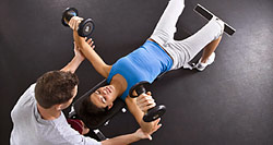Инструктор фитнес-программ в тренажерном зале, 1 ступень
