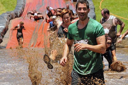 В Австралии пройдет необычный забег Mud Run
