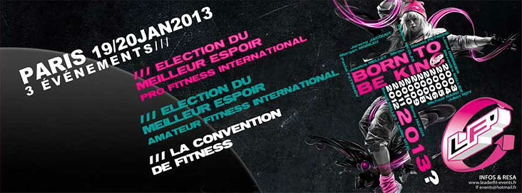 ������� ������������ Election Du Meilleur Espoir Pro Fitness International 2013