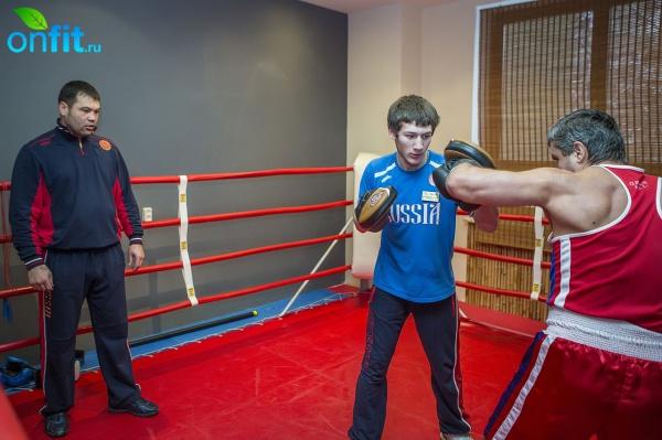 Мастер-класс чемпионов по боксу в клубе Biosphere