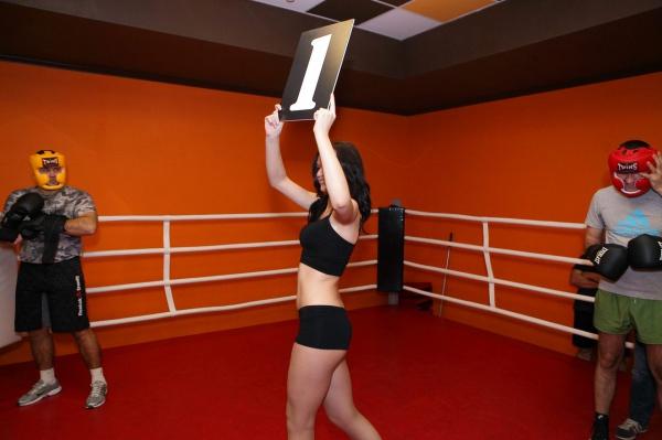 Соревнования по боксу World Gym Fight