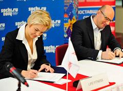 Лидеры фитнес-индустрии стали поставщиками Олимпийских игр 2014 в Сочи