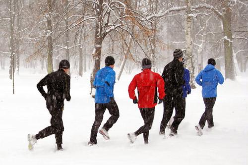 Новогодние пробежки пройдут по всей России