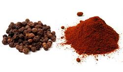 Перец (черный и красный)