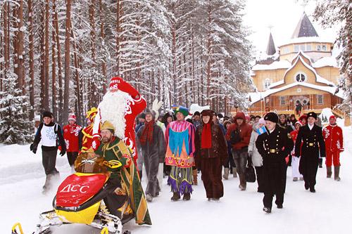 В Великом Устюге пройдет Малая Олимпиада Деда Мороза