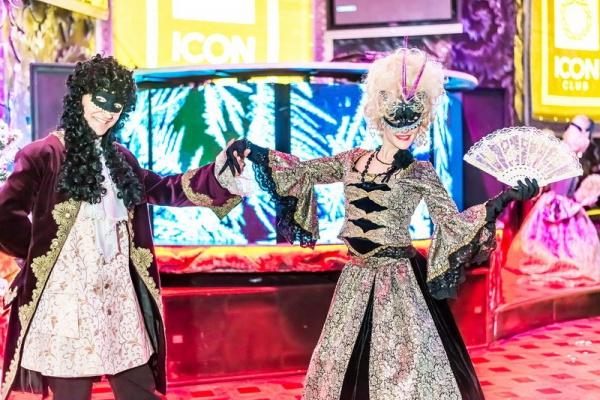 «Terrasport Коперник» встретил Старый Новый год балом-маскарадом