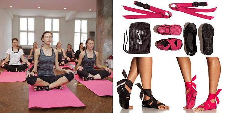Nike Studio Wrap — обувь для занятий босиком